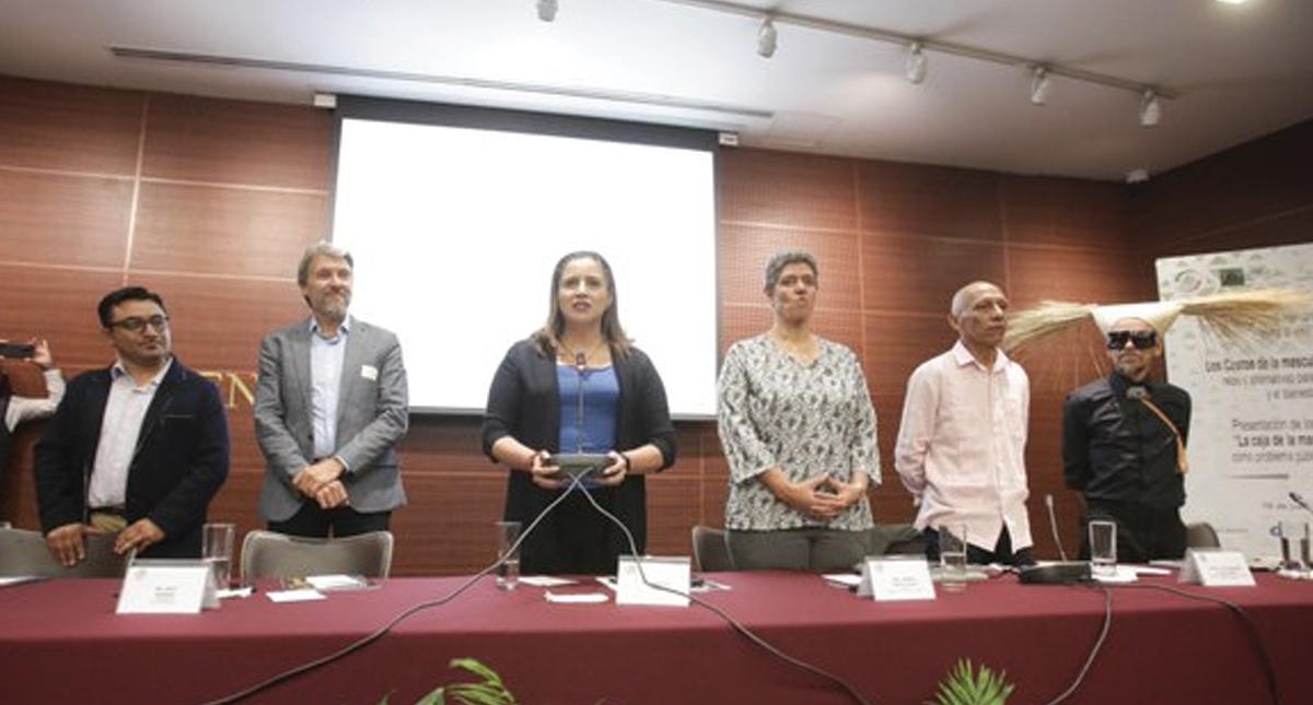 Intervención de Rubén Albarrán en el Senado desata controversia