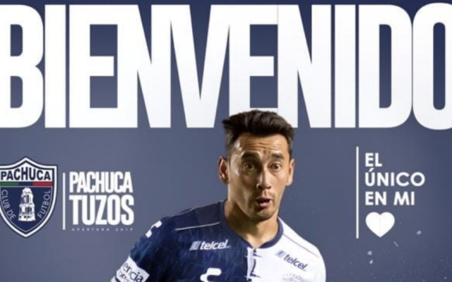 Rubens Sambueza ya es de Pachuca - Foto de @Tuzos
