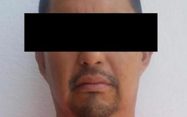 Aseguran en Culiacán a hombre buscado en Estados Unidos - Sacramento F. era buscado por la Corte Federal de Arizona. Foto de FGR