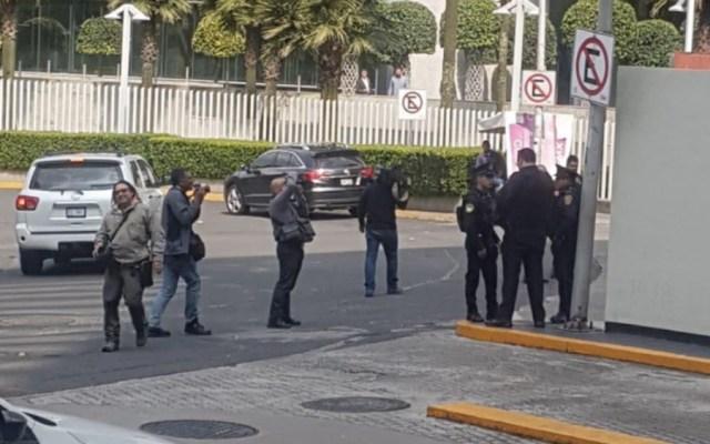 Frustran intento de asalto en hotel de Santa Fe - Foto de @vialhermes