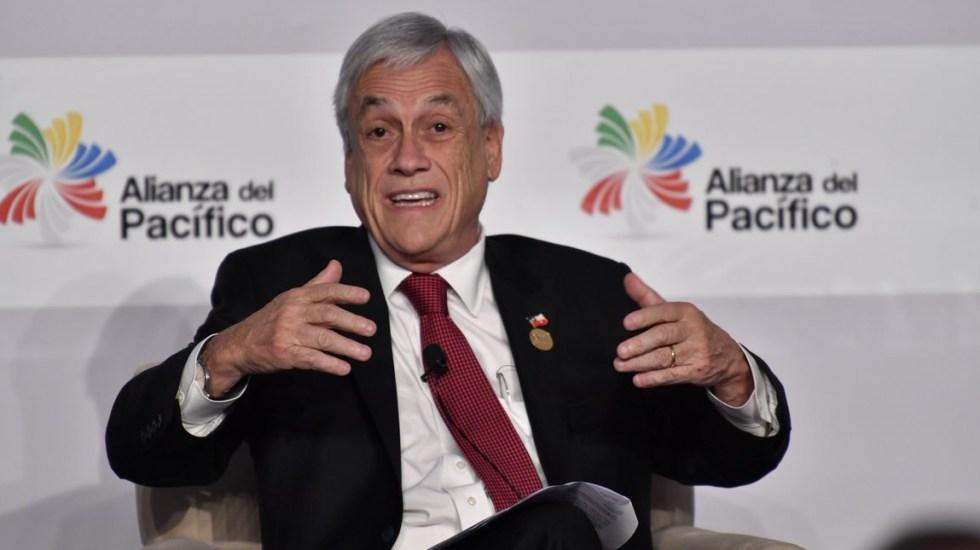 Piñera bromea sobre ausencia de AMLO en cumbre de Alianza del Pacífico - Sebastián Piñera Chile
