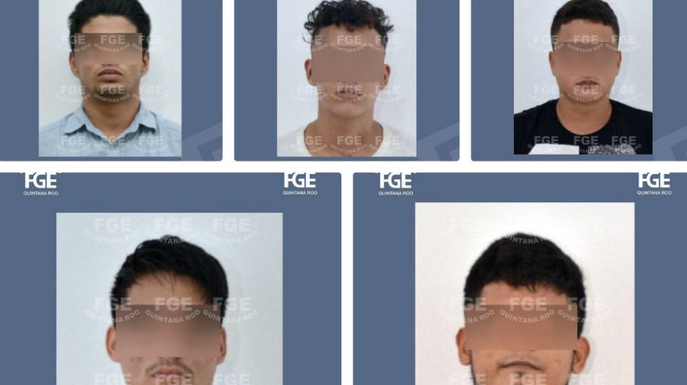 A proceso 5 imputados por secuestro de 27 trabajadores en un call center - Foto de Fiscalía de Quintana Roo