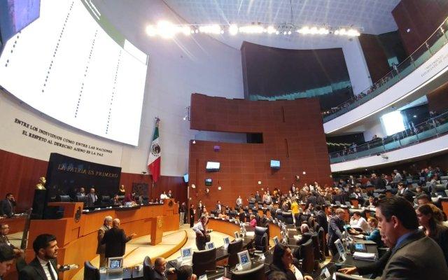 Senadores de oposición alistan controversia contra ley de austeridad - Foto de @NoticiaCongreso