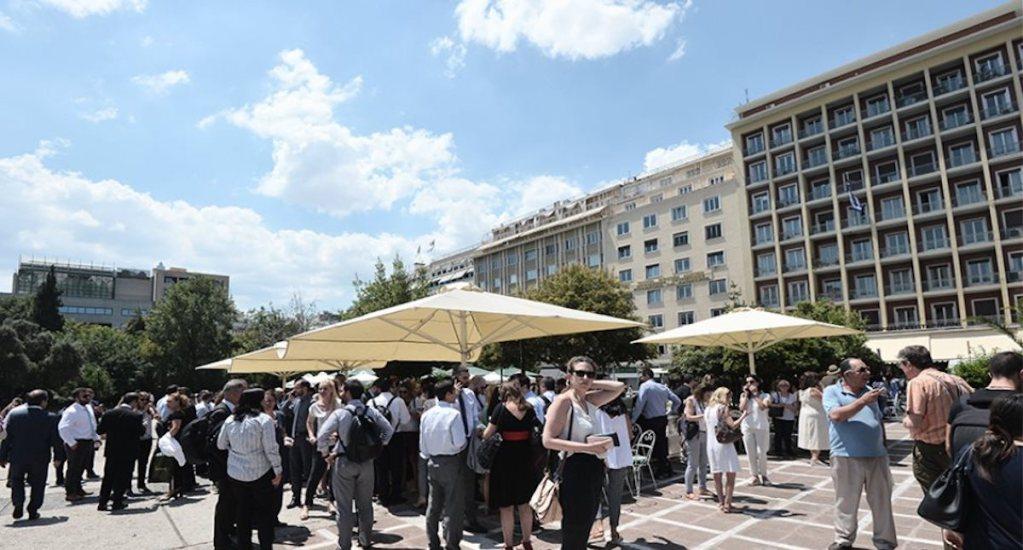 Terremoto magnitud 5.1 sacude Atenas - Foto de Skglife.gr.