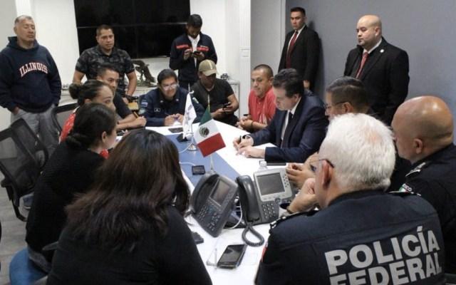 Avanza diálogo entre policías federales inconformes y SSPC - Foto de SSPC