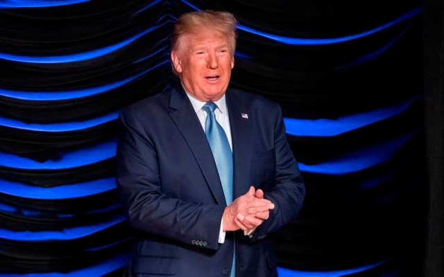 Trump felicita a México y arremete contra China - trump