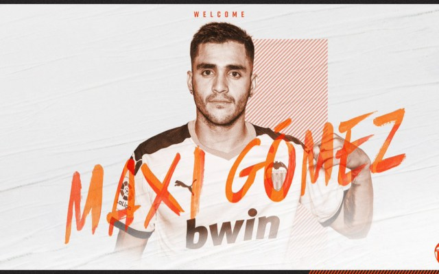 Valencia contrata a Maxi Gómez - Foto de @valenciacf