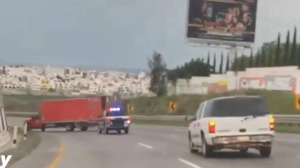 #Video Persecución en carretera de Querétaro. Noticias en tiempo real