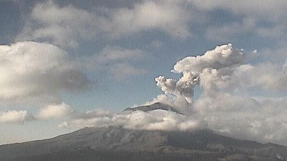 Popocatépetl emite 134 exhalaciones y 10 explosiones - Foto de @GobiernoMorelos
