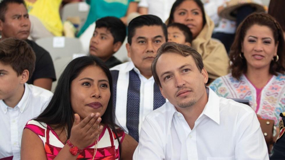 Yalitza Aparicio asiste a la Guelaguetza - Foto de EFE