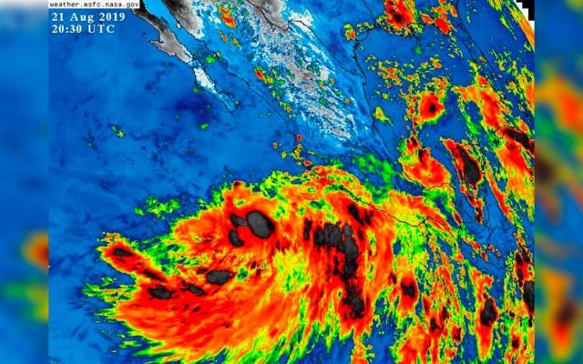 Depresión 10E se fortalece y alcanza la categoría de tormenta tropical - tormenta tropical