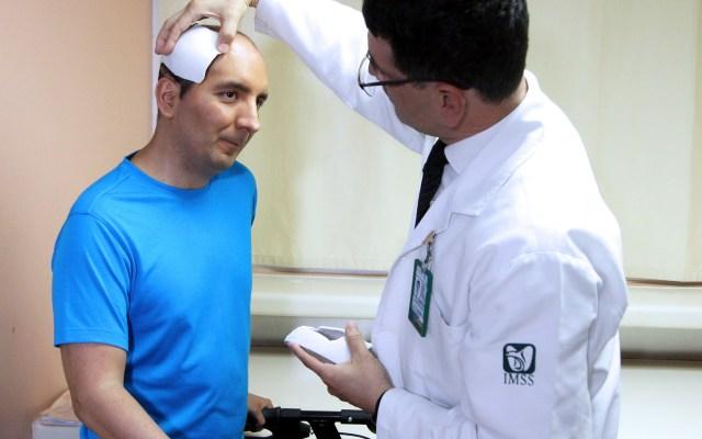 Especialistas mexicanos reconstruyen con éxito cráneo a deportista - Foto: EFE/ IMSS