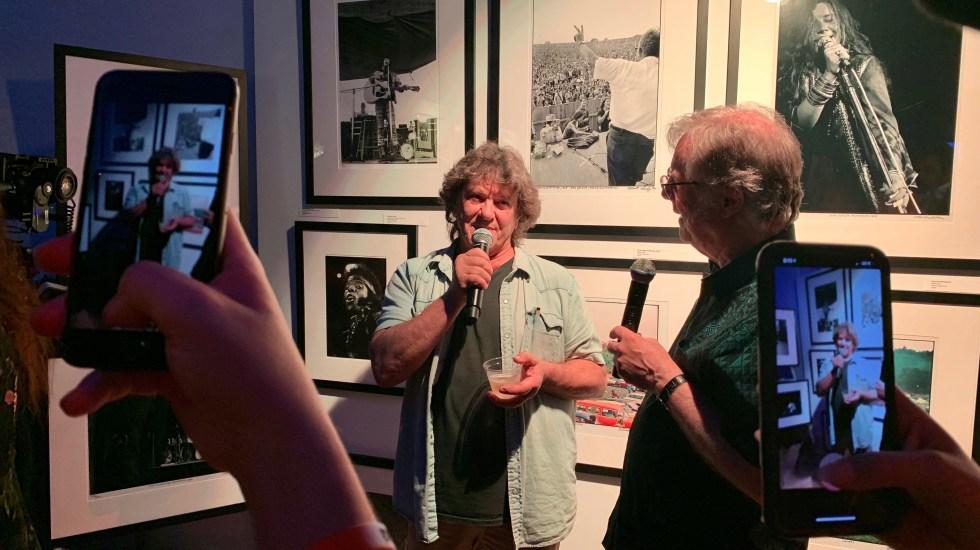 Los 50 años de Woodstock, el aniversario frustrado - El cofundador del festival de Woodstock Michael Lang. Foto de EFE.