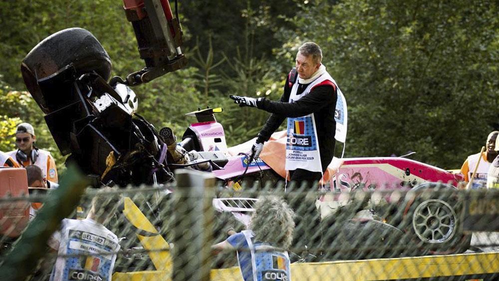 Muere el piloto francés Anthoine Hubert durante carrera de Fórmula 2 - accidente Anthoine Hubert