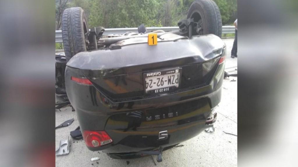 accidente automovilístico deja dos muertos en la autopista del sol (1)