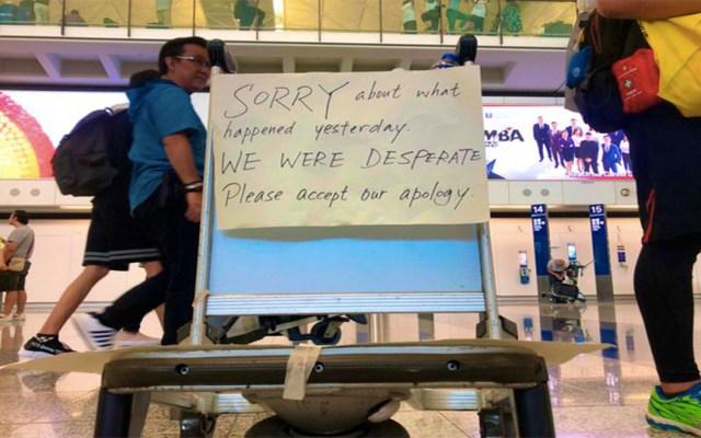 Reinician operaciones en el Aeropuerto de Hong Kong tras manifestaciones - operacionesz aeropuerto hong kong