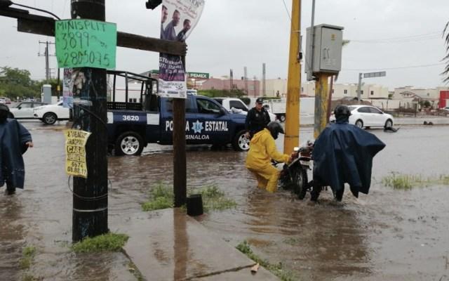 Lluvias por Ivo dejan al menos 640 afectados en Sinaloa - Foto de Seguridad Pública Sinaloa