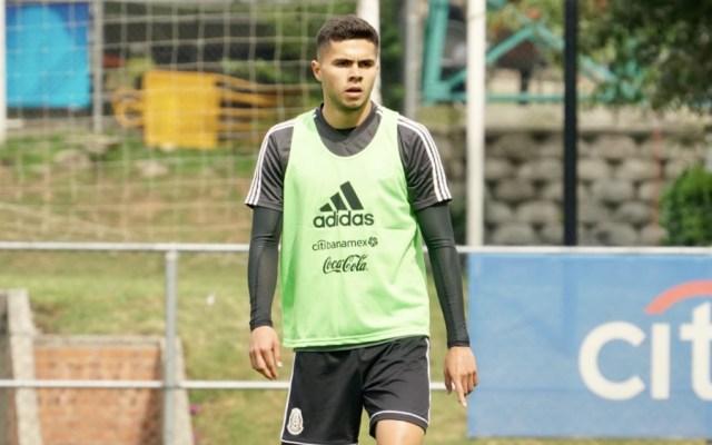 Alan Medina causa baja del Tricolor por lesión - Foto de @miseleccionmx