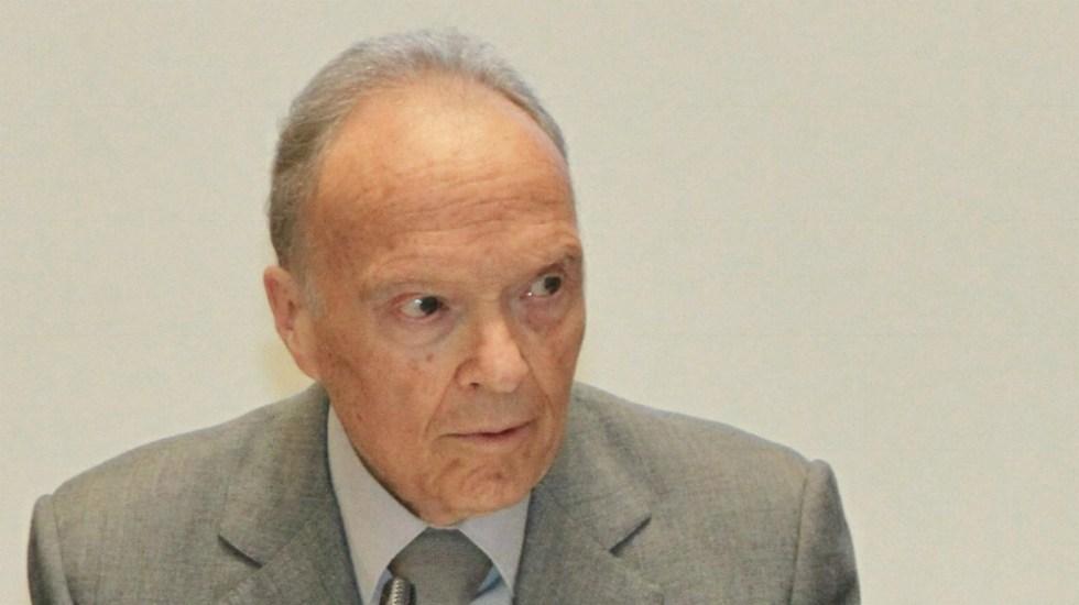 Gertz señala a ministro González Alcántara por invadir facultades de FGR en caso García Cabeza de Vaca - Alejandro Gertz Manero FGR