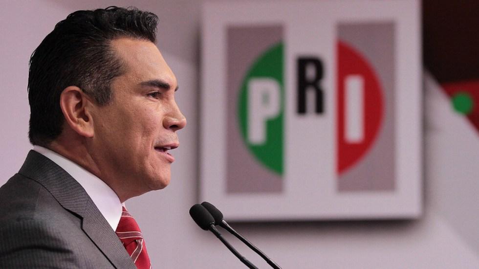 Alejandro Moreno nuevo dirigente del PRI nacional - Alejandro Moreno