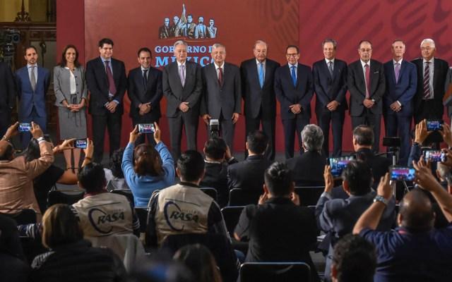 """""""¿A poco la prensa no aplaude?"""": López Obrador tras anunciar acuerdo por gasoductos - Foto de lopezobrador.org.mx"""