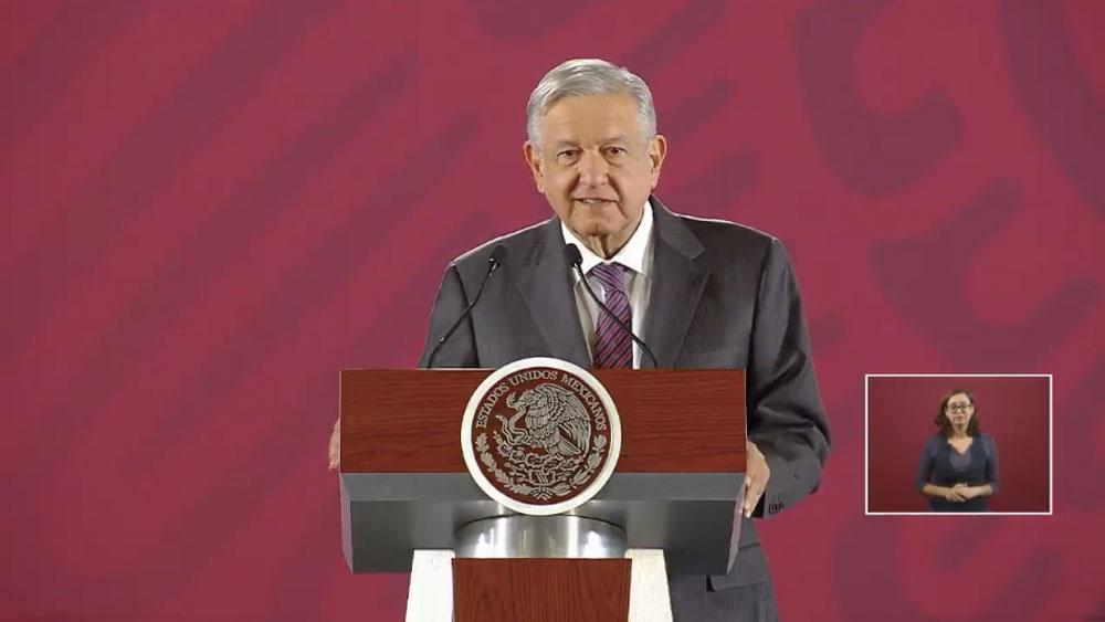 FGR decidirá hasta dónde llega en el caso Rosario Robles: López Obrador - amlo confe