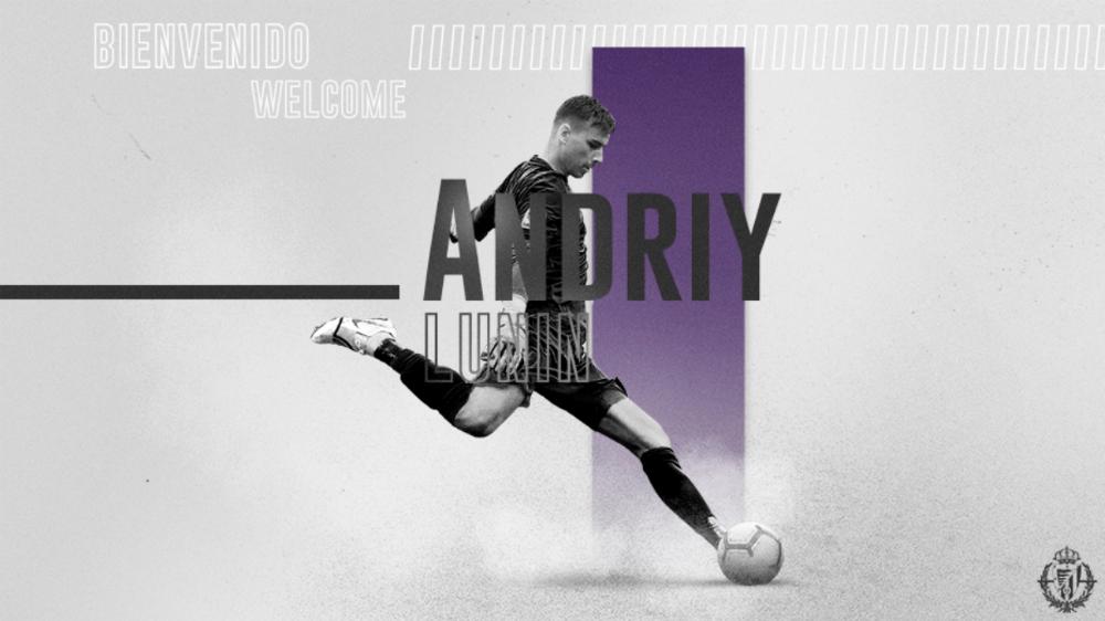 Real Madrid cede al portero Andreiy Lunin al Valladolid - Foto de Real Valladolid F.C.
