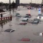 Fuerte lluvia en Monterrey deja 2 muertos
