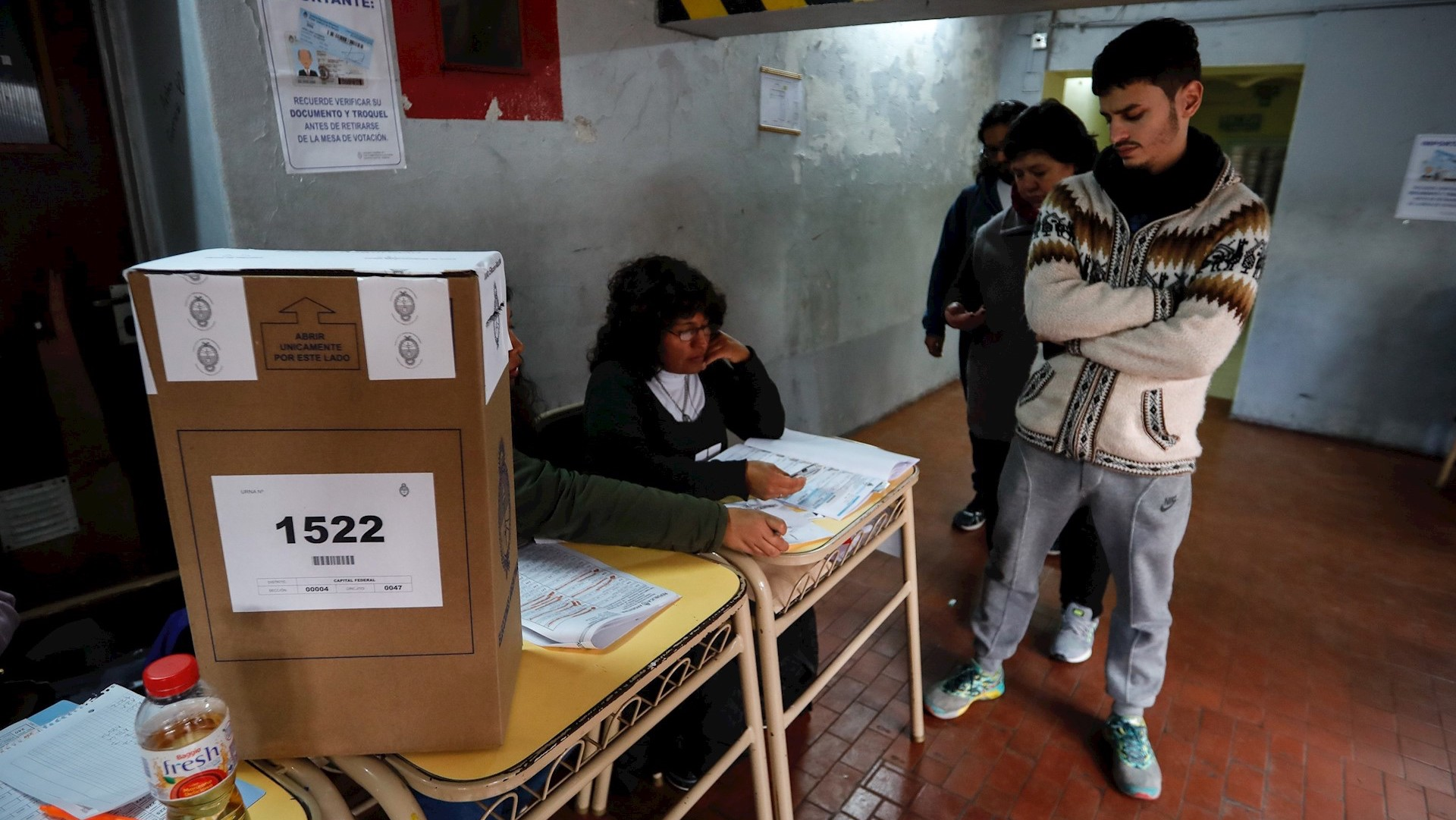 Cerraron los comicios y se esperan los resultados — PASO Nacionales