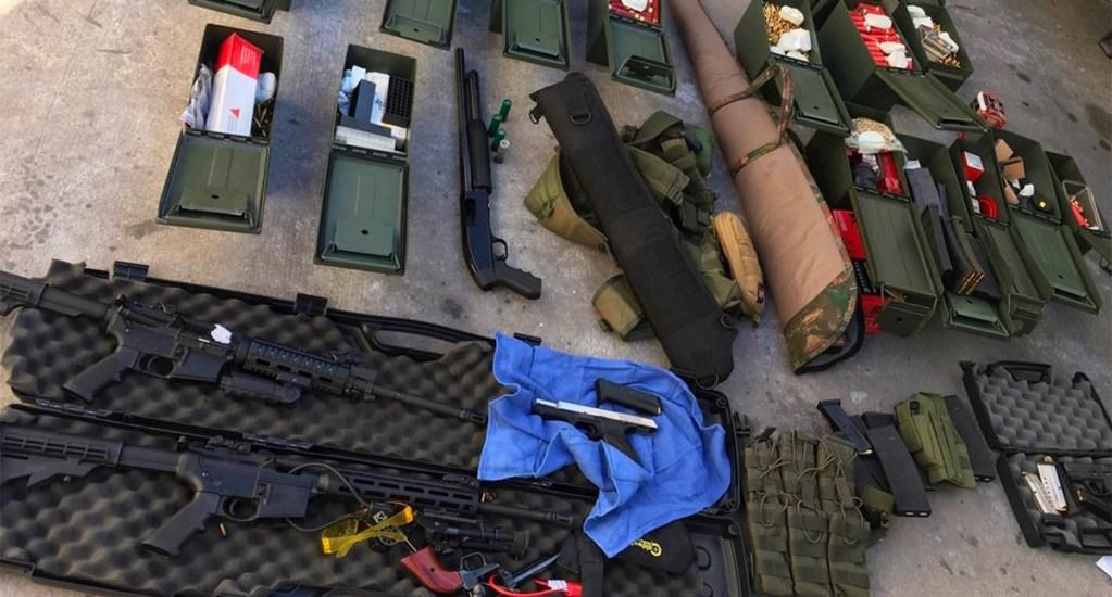 Detienen a latino sospechoso de planear tiroteo en Marriott de California - armas de fuego