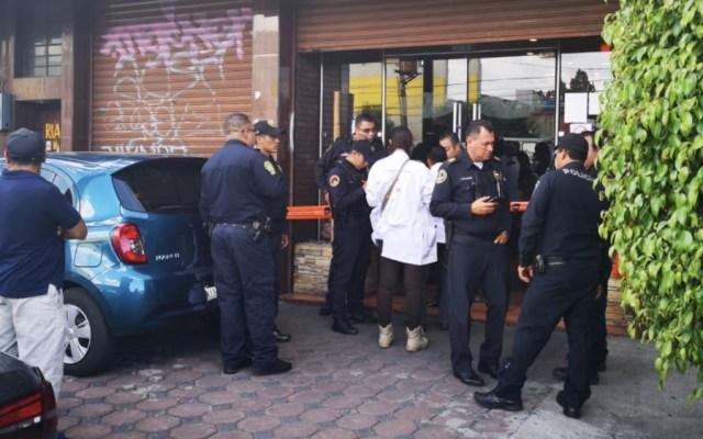 #Video Captan asesinato en restaurante de Iztapalapa - Foto de @GaboOrtega73