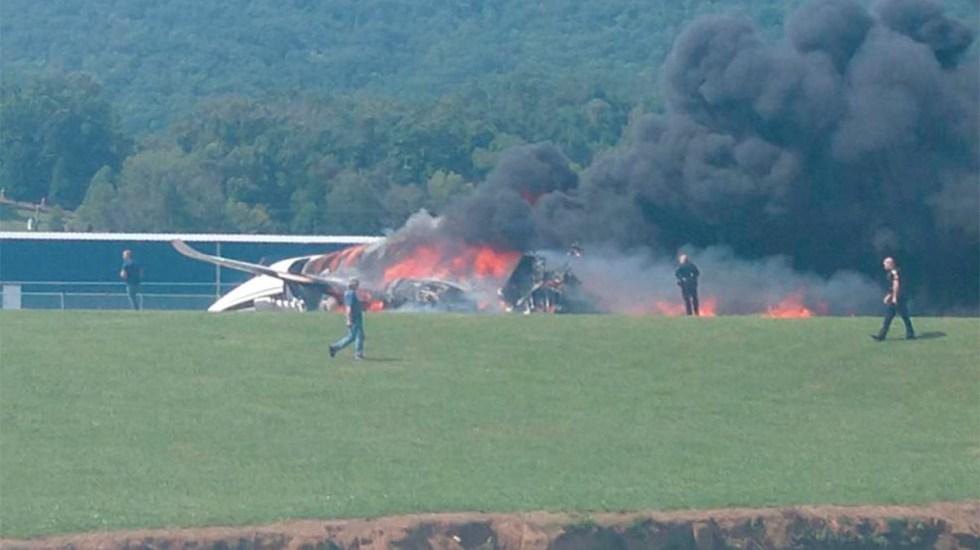Piloto de Nascar sufre accidente aéreo en Tennessee - avión dale earnhardt accidente tennessee