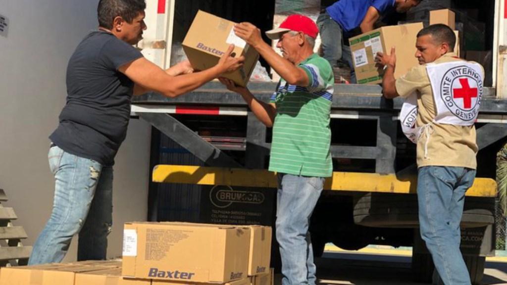 Ayuda humanitaria enviada por Cruz Roja a Venezuela se acerca a 100 toneladas - ayuda humanitaria cruz roja venezuela