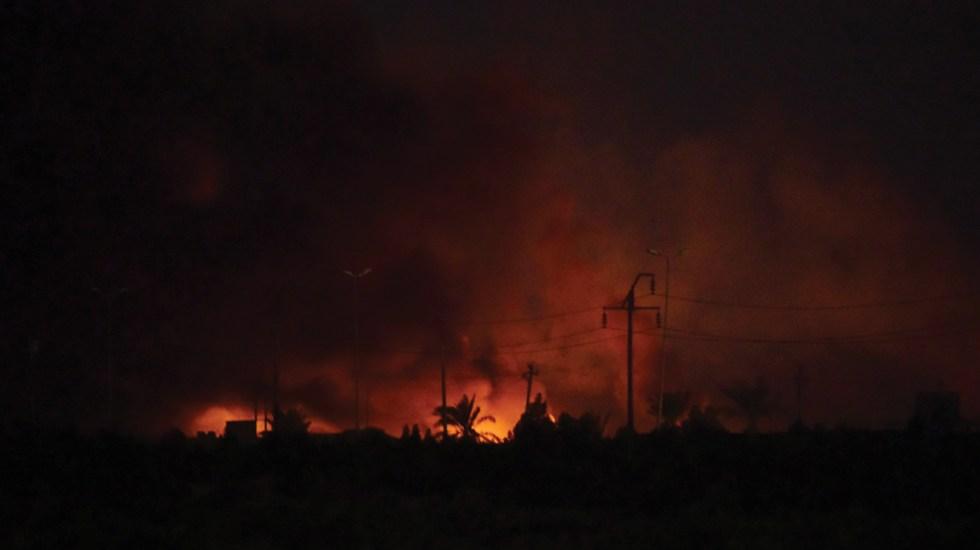 Al menos un muertos y 27 heridos por explosiones en Bagdad - Foto de EFE