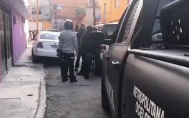 Balacera deja un muerto y un herido en Álvaro Obregón - Foto de Noticieros Televisa