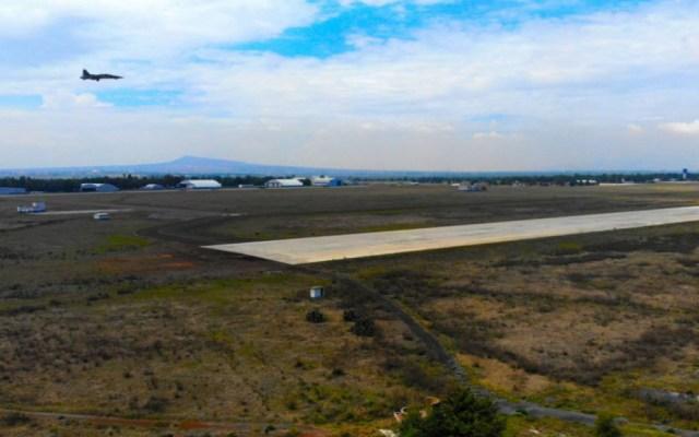 Sedena prevé ahorros por 23 mil mdp con aeropuerto de Santa Lucía - Base Aérea de Santa Lucía. Foto de Mexicanos contra la Corrupción