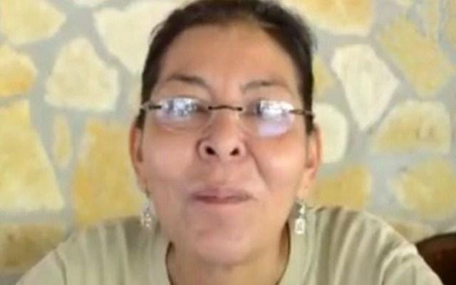 Semarnat reprueba asesinato de ambientalista en Chiapas - Bióloga Nora López. Captura de pantalla