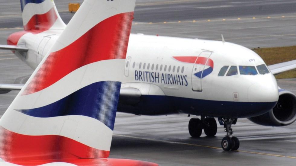 Problema en sistema de facturación provoca cancelación de vuelos de British Airways - Foto de EFE