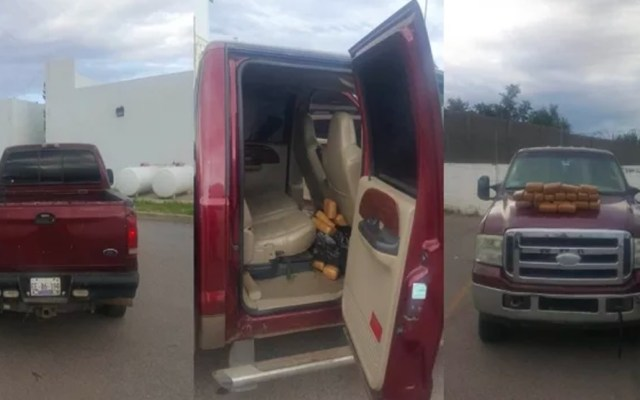 Localizan camioneta robada con casi 14 kilos de mariguana en Chihuahua - mariguana chihuahua