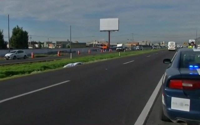 Campesino muere atropellado sobre la México-Pachuca - Campesino atropellado sobre la México-Pachuca. Captura de pantalla / Foro Tv