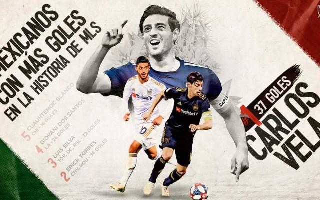 Carlos Vela el jugador mexicano con más goles en la MLS - carlos vela mls goles
