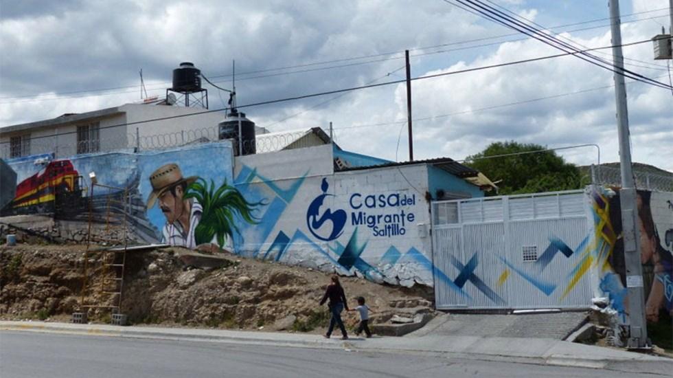 AMLO ordena investigar asesinato de migrante en Coahuila - casa del migrante de saltillo salvadoreño fge