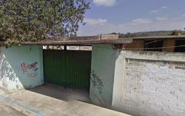 Liberan en Edomex a médico español secuestrado en CDMX - Casa en la que fue liberado un médico español. Foto de @c4jimenez