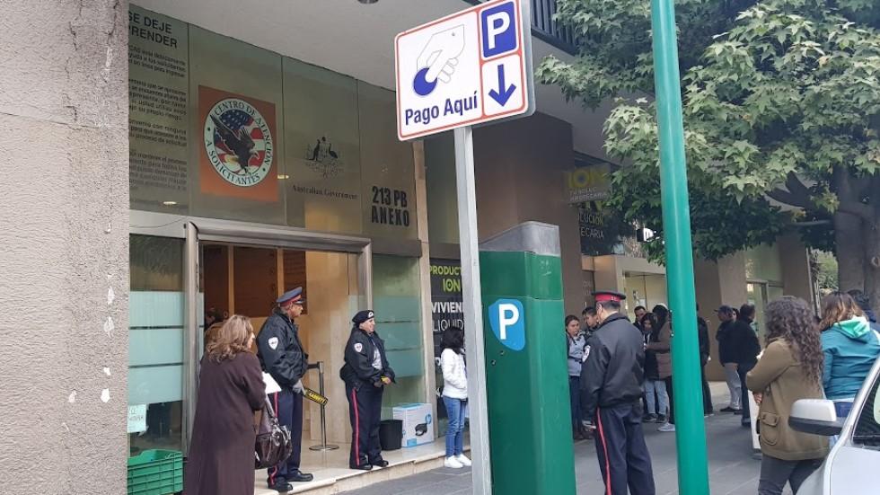 Embajada de EU cancela trámite de visas en México — Coronavirus