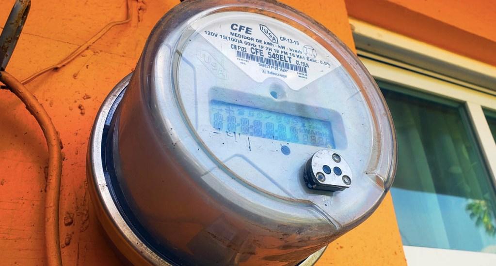 Tarifa eléctrica de bajo consumo subió 8.6 % en sexenio de AMLO, asegura CFE - CFE medidor Comisión Federal de Electricidad tarifa eléctrica