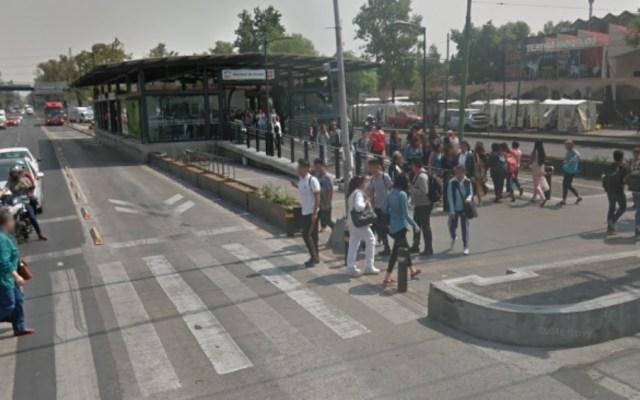 Metrobús opera con normalidad tras choque en la GAM - metrobus choque eduardo molina