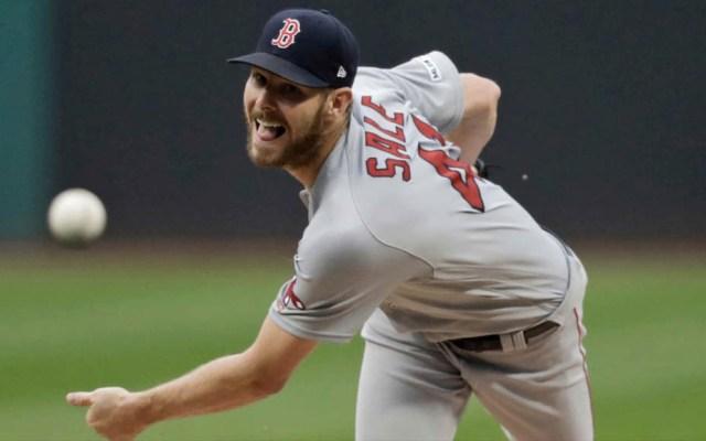 Red Sox contrata al pitcher Collin McHugh ante posible baja de Chris Sale - Chris Sale Red Sox MLB