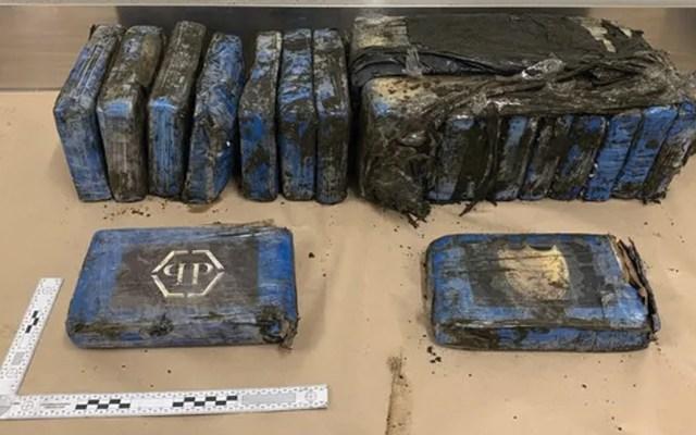 Paquetes de cocaína aparecen en playa de Nueva Zelanda - Foto de Policía de Nueva Zelanda