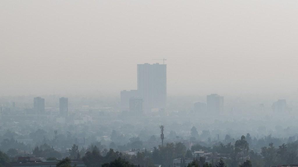 Se mantiene Hoy No Circula en Valle de México por altas concentraciones de ozono - Calidad del aire. Foto de EFE