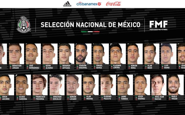 Convocatoria de Martino para la Nations League de Concacaf - convocatoria tri